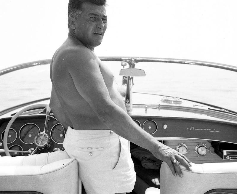 Ferruccio Lamborghini on his Hull No.278